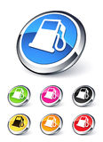 Fuel icon Royalty Free Stock Image