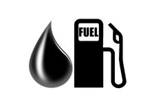 Fuel icon Royalty Free Stock Photo