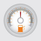 Fuel indicator Stock Image