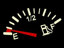 Fuel indicator Royalty Free Stock Image