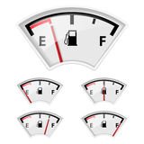 Fuel indicator. Stock Images
