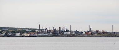 Fuel Industry on Coast Stock Photos