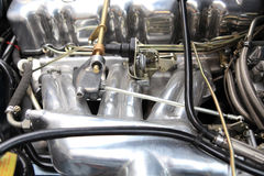 Fuel-injection. Mechanical fuel injection system of a German old timer Royalty Free Stock Image