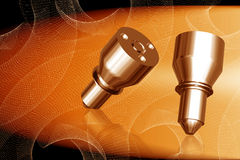 Fuel injection nuzzle Royalty Free Stock Image