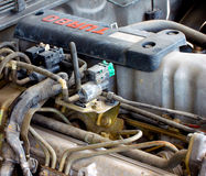 Fuel injection system Royalty Free Stock Images