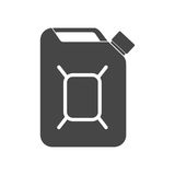 Fuel jerrycan icon Stock Image