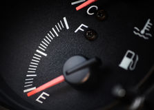 Fuel level Royalty Free Stock Image