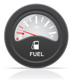 Fuel level indicator vector illustration Royalty Free Stock Image