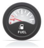 Fuel level indicator vector illustration Royalty Free Stock Image
