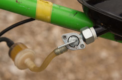 Fuel Line Tap Royalty Free Stock Photography