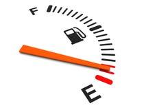 Fuel meter Stock Image