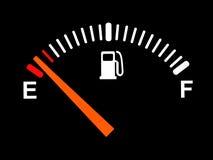 Fuel meter royalty free illustration