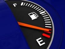 Fuel meter Stock Images