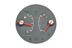 Fuel meter Stock Images