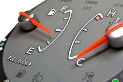 Fuel meter Royalty Free Stock Image