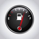 Fuel meter. Design, vector illustration eps10 graphic stock illustration