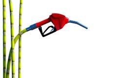 Fuel nozzle cane. Stock Images