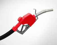 The fuel nozzle. 3d generated picture of a fuel nozzle Royalty Free Stock Photo