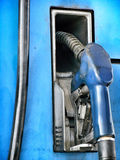 Fuel nozzle. Royalty Free Stock Photo