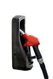 The Fuel nozzle in petrol pumps. Stock Photos