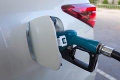 Fuel nozzle Royalty Free Stock Photo