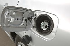 Fuel Nozzle Stock Photo