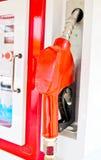 Fuel oil gasoline dispenser Stock Photography
