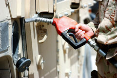 Fuel point Stock Photography