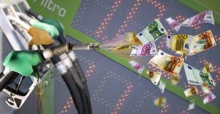Fuel price Stock Image