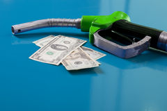 Fuel prices royalty free stock photos