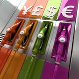 Fuel prices Stock Photo