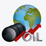Fuel prices economy design Royalty Free Stock Photos