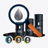 Fuel prices economy design Royalty Free Stock Photography