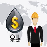 Fuel prices economy design Royalty Free Stock Photo