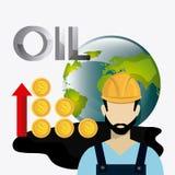 Fuel prices economy design Royalty Free Stock Image