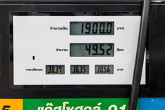 Fuel prices Royalty Free Stock Images