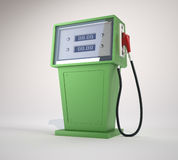 Fuel pump. This is a 3d render illustration vector illustration