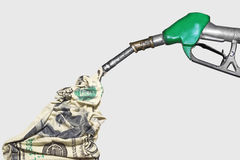 Fuel pump stock photography
