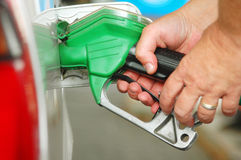 Fuel pump royalty free stock photos