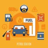 Fuel Pump Composition Stock Photo