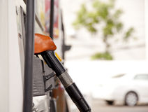 Fuel pump dispensers Royalty Free Stock Photography