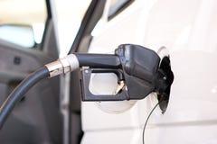 Fuel pump nozzle Royalty Free Stock Photos