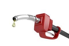 Fuel pump nozzle Royalty Free Stock Photo