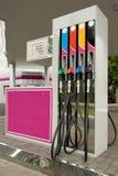 Fuel pump nozzles Stock Photos