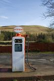 Fuel pump, old style. Old style fuel pump, scotland, highlands Royalty Free Stock Images
