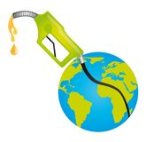 Fuel pump with planet Stock Image
