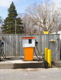 Farm diesel fuel pump Stock Photography