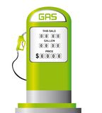 Fuel pump vector Royalty Free Stock Images