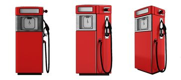 Fuel pumps Royalty Free Stock Images