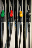 Fuel pumps Stock Photography